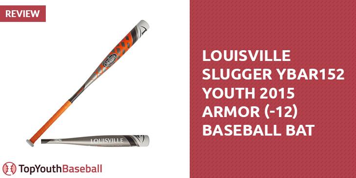Louisville Slugger Ybar152 Youth 2015 Armor 12 Baseball